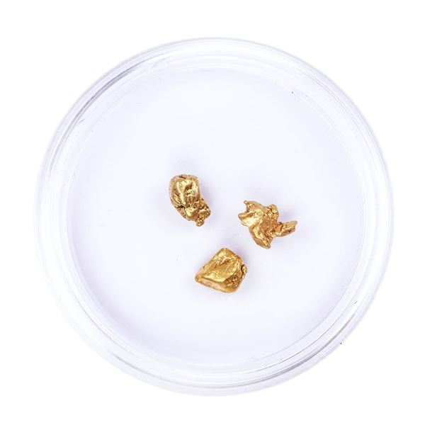 Lot of Gold Nuggets 2.19 Grams Total Weight