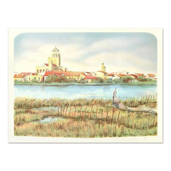 """Rolf Rafflewski """"Les Saintes Mariel"""" Limited Edition Lithograph"""