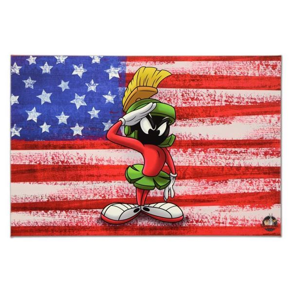 """Looney Tunes """"Patriotic Series: Marvin"""" Limited Edition Giclee"""