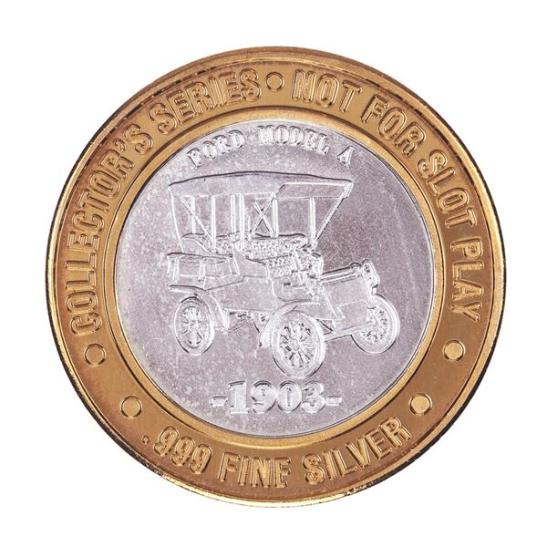 .999 Silver Claridge Hotel Atlantic City $10 Casino Limited Edition Gaming Token