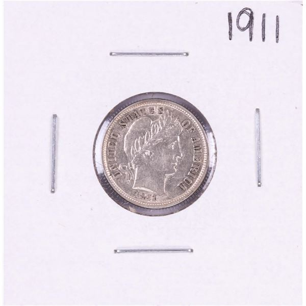 1911 Barber Dime Coin