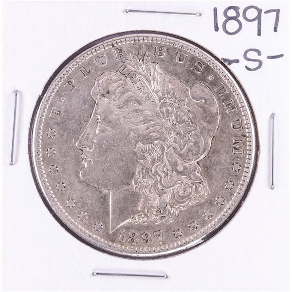 1897-S $1 Morgan Silver Dollar Coin