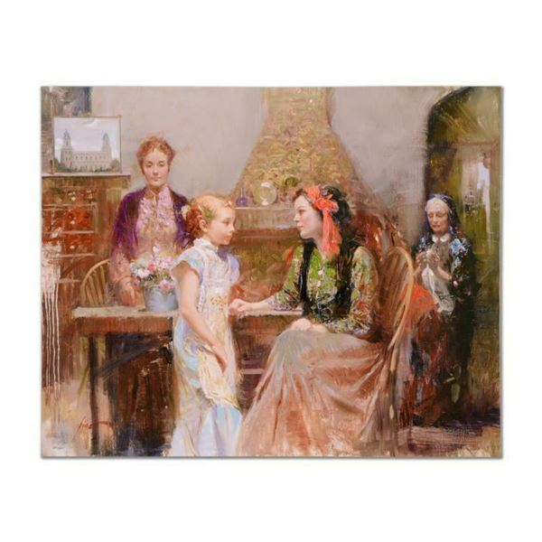 "Pino (1939-2010) ""Generations of Faith"" Limited Edition Giclee on Canvas"