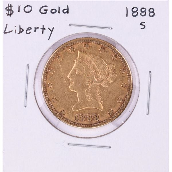 1888-S $10 Liberty Head Eagle Gold Coin
