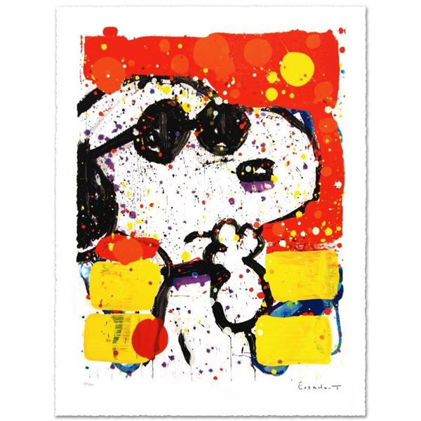 """Tom Everhart """"Cool & Intelligent"""" Limited Edition Lithograph"""