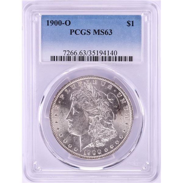 1900-O $1 Morgan Silver Dollar Coin PCGS MS63