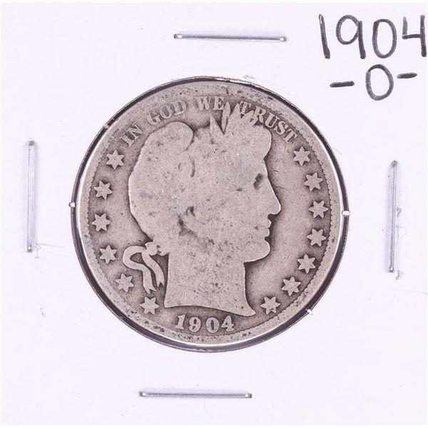 1904-O Barber Half Dollar Coin