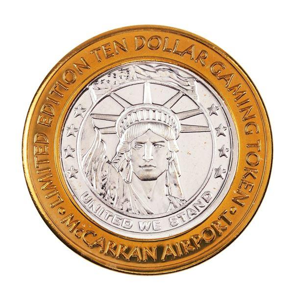 .999 Silver McCarran International Airport Las Vegas, NV $10 Limited Gaming Token