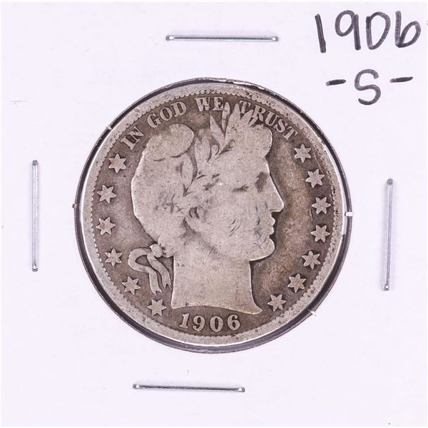 1906-S Barber Half Dollar Coin