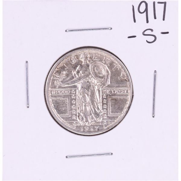 1917-S Standing Liberty Quarter Coin