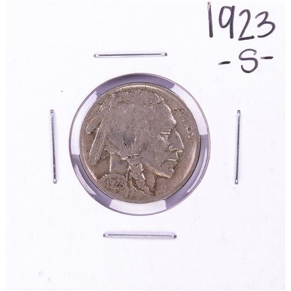 1923-S Buffalo Nickel Coin