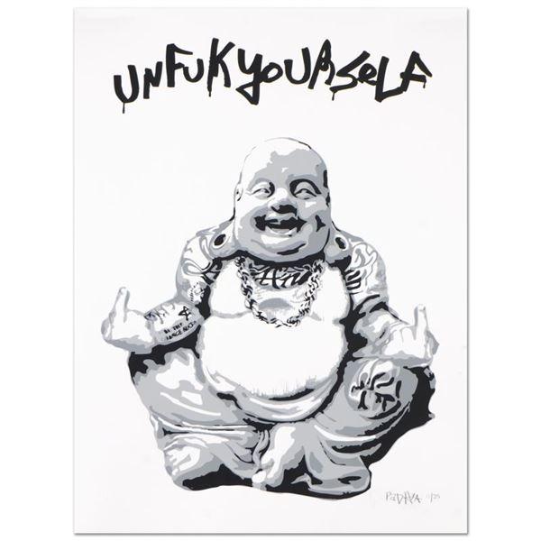 "Padhia Avocado ""Gangsta Buddha"" Limited Edition Silkscreen"
