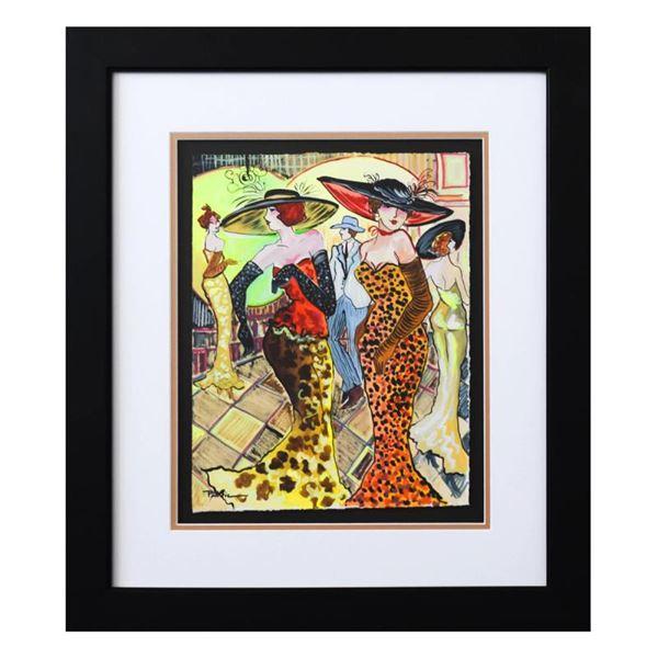 "Govezensky ""Night Club"" Original Watercolor on Paper"