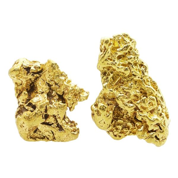 Lot of Gold Nuggets 7.65 Grams Total Weight