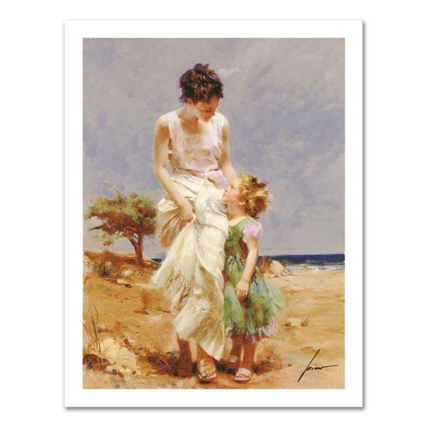 "Pino (1939-2010) ""Joyful Memories"" Limited Edition Giclee on Canvas"