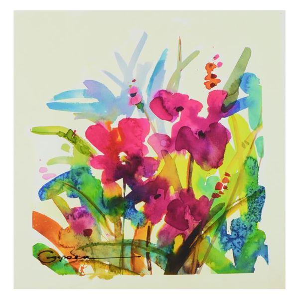 "Maya Green ""Water II"" Limited Edition Giclee on Canvas"