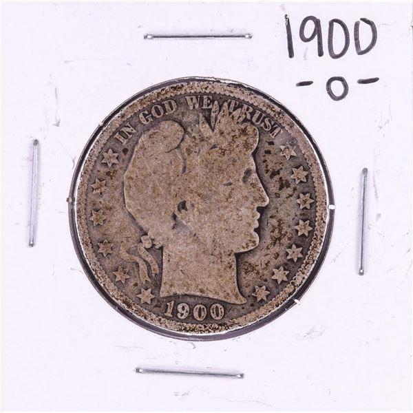 1900-O Barber Half Dollar Coin