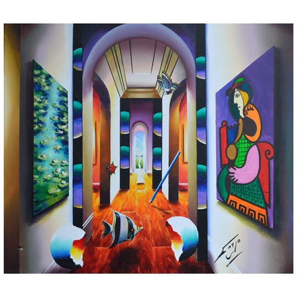 "Ferjo ""Archways to the Sun"" Original Oil on Canvas"