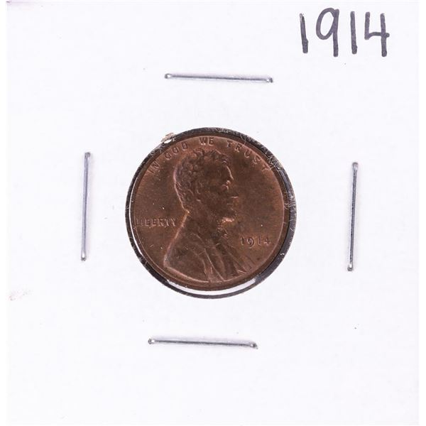 1914 Lincoln Wheat Cent Coin