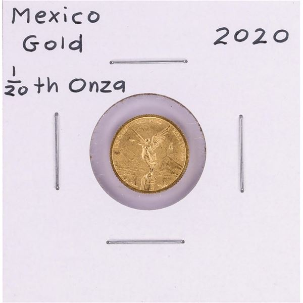 2020 Mexico Libertad 1/20 oz Gold Coin