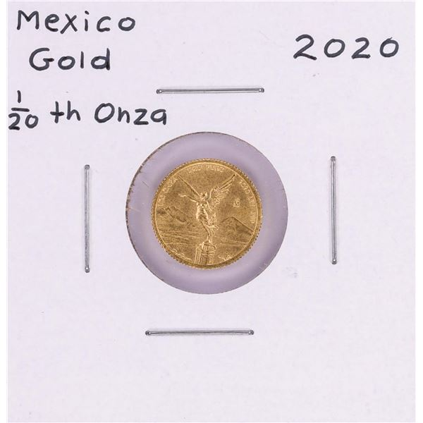 2020 Mexico Libertad 1/20 oz Gold Coin