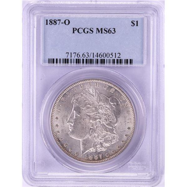 1887-O $1 Morgan Silver Dollar Coin PCGS MS63