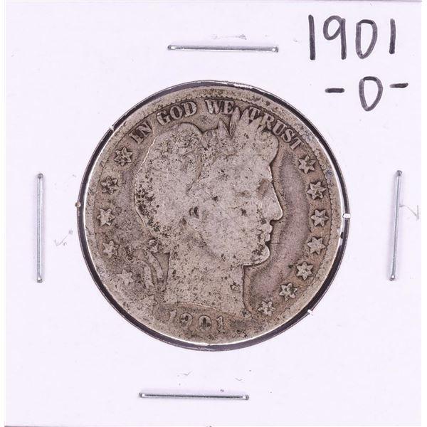 1901-O Barber Half Dollar Coin