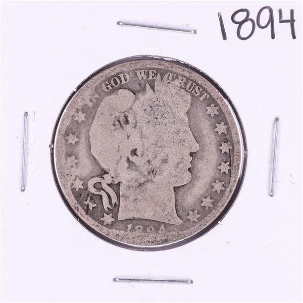 1894 Barber Half Dollar Coin