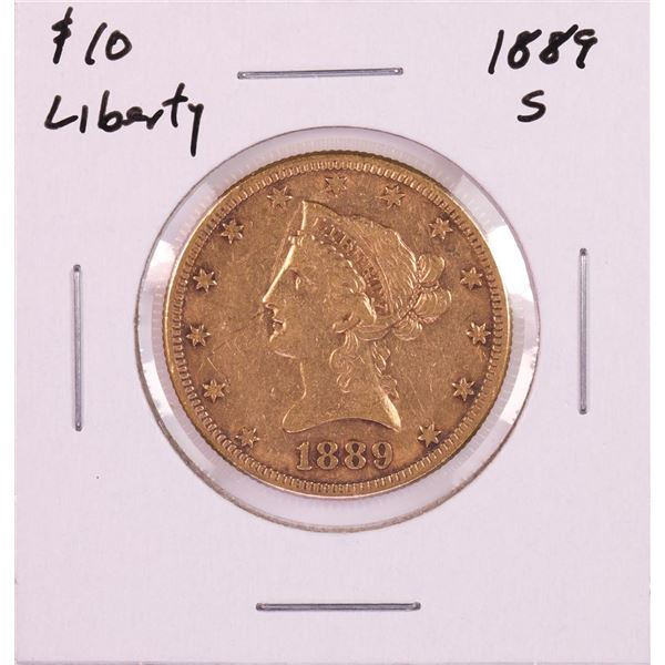 1889-S $10 Liberty Head Eagle Gold Coin