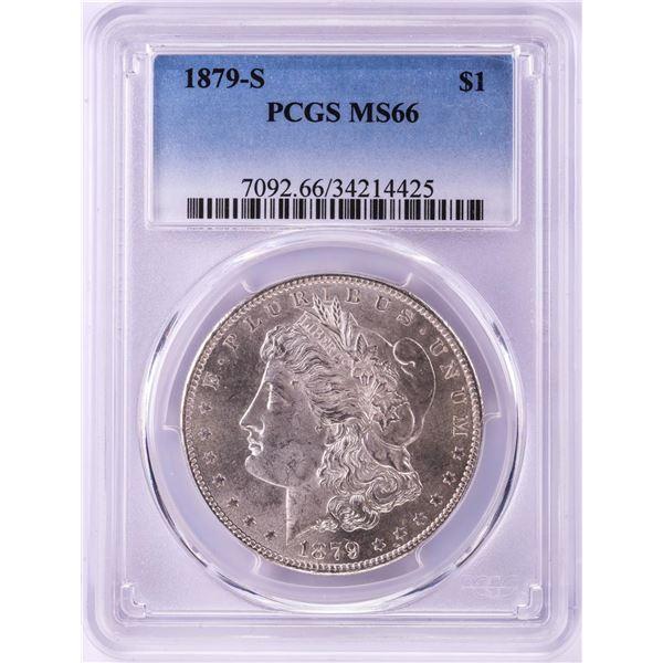 1879-S $1 Morgan Silver Dollar Coin PCGS MS66