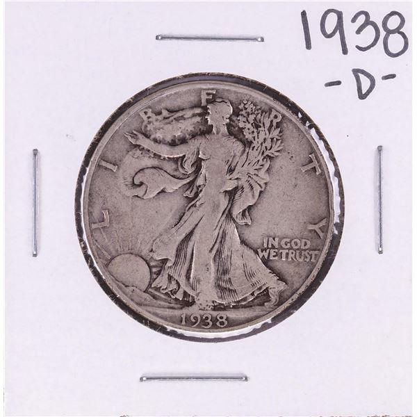 1938-D Walking Liberty Half Dollar Coin