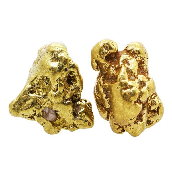 Lot of Gold Nuggets 8.37 Grams Total Weight