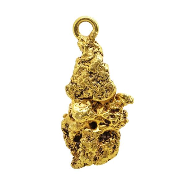 Gold Nugget Pendant 4.23 Grams Total Weight