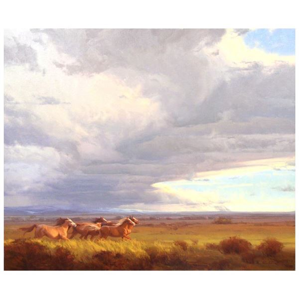 """Michael Albrechtsen """"Freedom"""" Limited Edition Giclee on Canvas"""