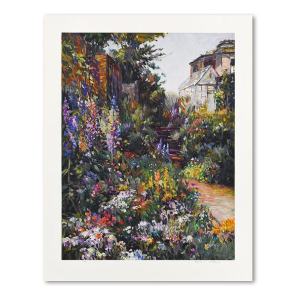 """Henri Plisson """"The Greenhouse"""" Limited Edition Serigraph on Paper"""