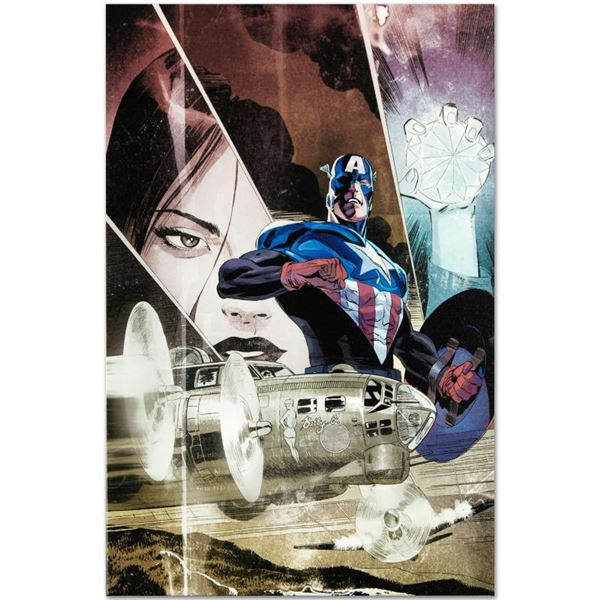 """Marvel Comics """"Captain America: Forever Allies #3"""" Limited Edition Giclee"""