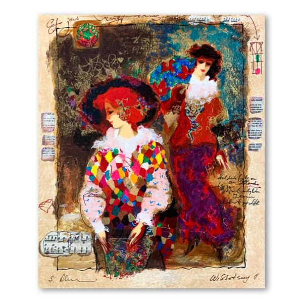"""Alexander & Wissotzky """"Memories of Venice"""" Limited Edition Serigraph"""