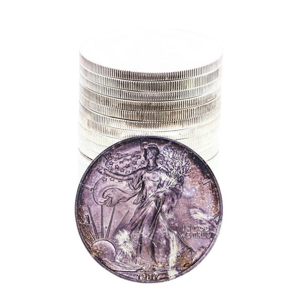 Original Roll of (20) Brilliant Uncirculated 1987 $1 American Silver Eagle Coins