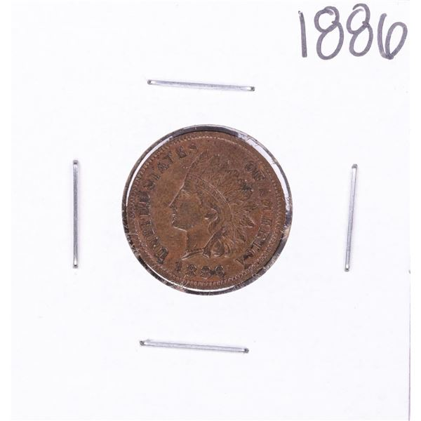 1886 Indian Head Cent Coin