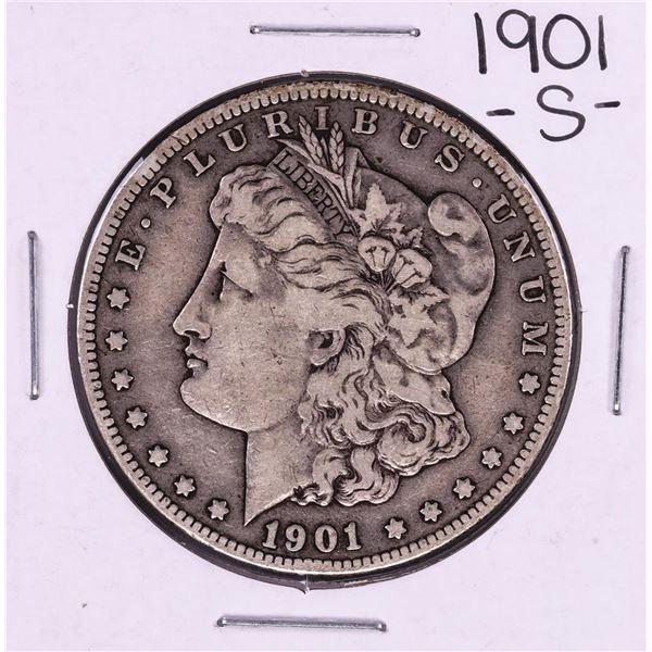1901-S $1 Morgan Silver Dollar Coin