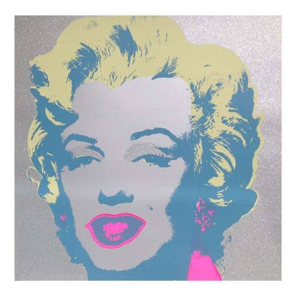 "Andy Warhol ""Diamond Dust Marilyn"" Limited Edition Serigraph"