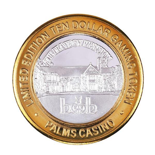 .999 Silver Palms Casino Las Vegas, NV $10 Casino Limited Edition Gaming Token