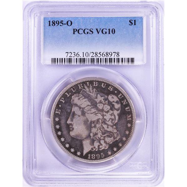 1895-O $1 Morgan Silver Dollar Coin PCGS VG10