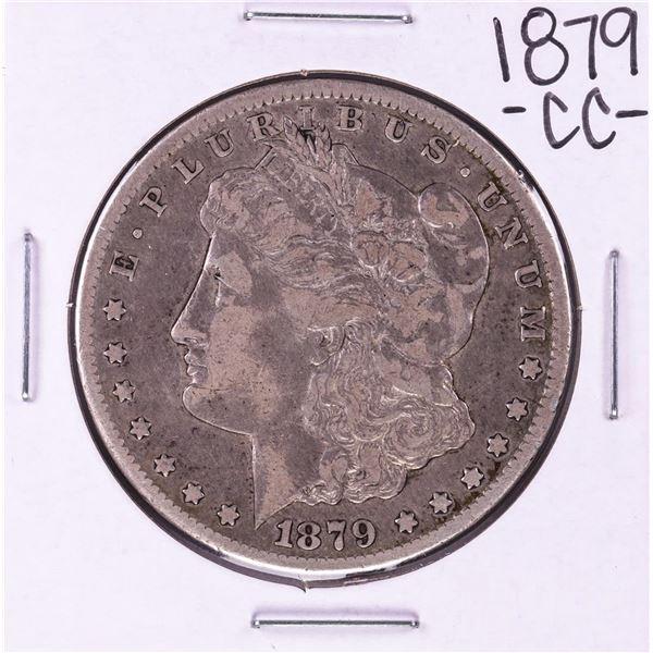 1879-CC Capped Die $1 Morgan Silver Dollar Coin