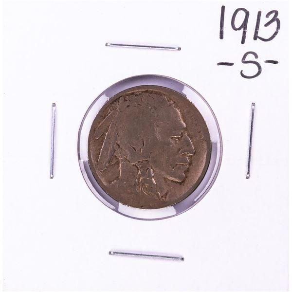 1913-S Type 2 Buffalo Nickel Coin