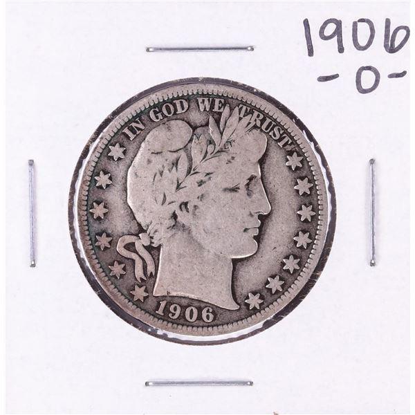 1906-O Barber Half Dollar Coin