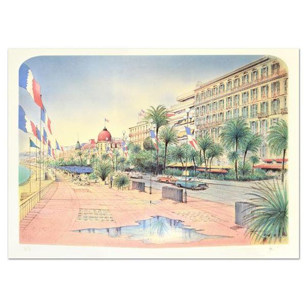 "Rolf Rafflewski ""Nice"" Limited Edition Lithograph"