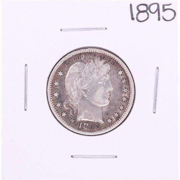 1895 Barber Quarter Coin