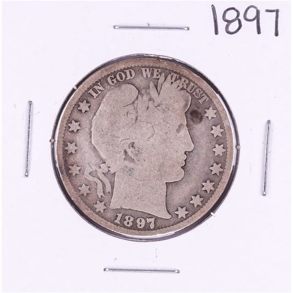 1897 Barber Half Dollar Coin