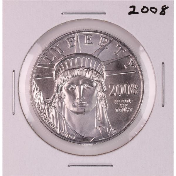 2008 $100 American Platinum Eagle Coin